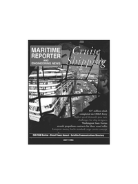 Maritime Reporter Magazine Cover Jul 1996 -