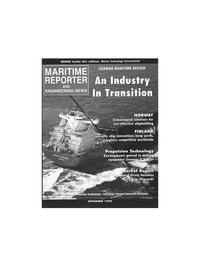 Maritime Reporter Magazine Cover Sep 1996 -