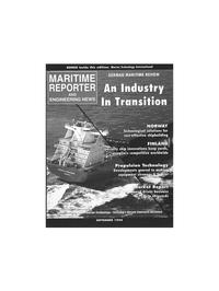 Maritime Reporter Magazine Cover Sep 1996 -