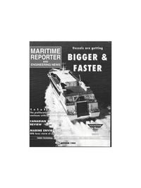 Maritime Reporter Magazine Cover Oct 1996 -