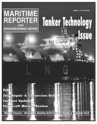 Maritime Reporter Magazine Cover Mar 1997 -