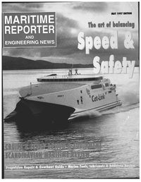 Maritime Reporter Magazine Cover May 1997 -