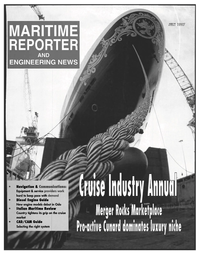 Maritime Reporter Magazine Cover Jul 1997 -