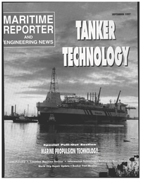 Maritime Reporter Magazine Cover Sep 1997 -