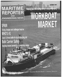 Maritime Reporter Magazine Cover Oct 1997 -