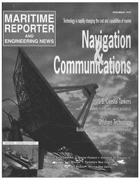 Maritime Reporter Magazine Cover Nov 1997 -