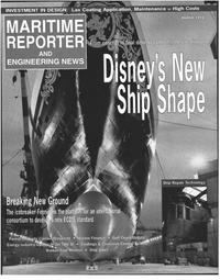 Maritime Reporter Magazine Cover Mar 1998 -
