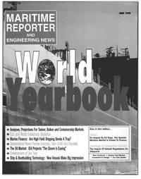 Maritime Reporter Magazine Cover Jun 1998 -
