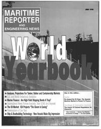Maritime Reporter Magazine Cover Jun 1998 -