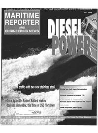 Maritime Reporter Magazine Cover Jul 1998 -