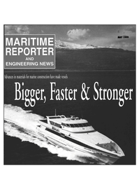 Maritime Reporter Magazine Cover May 1999 -