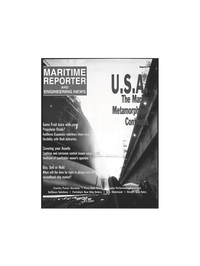 Maritime Reporter Magazine Cover Aug 1999 -