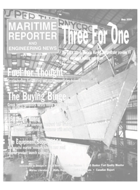 Maritime Reporter Magazine Cover May 2000 -