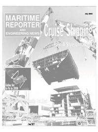 Maritime Reporter Magazine Cover Jul 2002 -
