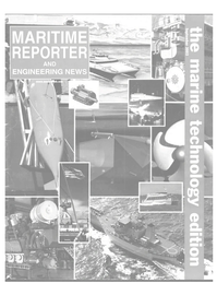 Maritime Reporter Magazine Cover Sep 2002 -
