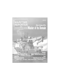 Maritime Reporter Magazine Cover Apr 2003 -