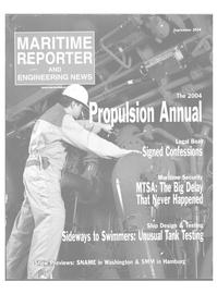Maritime Reporter Magazine Cover Sep 2004 - Marine Propulsion Annual