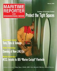 Maritime Reporter Magazine Cover Feb 2, 2005 -