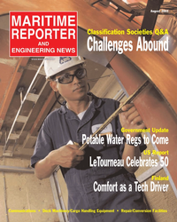 Maritime Reporter Magazine Cover Aug 2005 - AWO Edition: Inland & Offshore Waterways