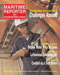 Maritime Reporter Magazine Cover Aug 2005 - AWO Edition: Inland & Offshore Waterways
