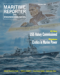 Maritime Reporter Magazine Cover Sep 2005 - Marine Propulsion Annual