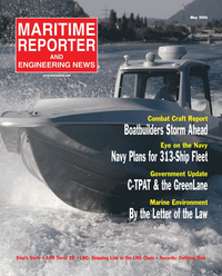 Maritime Reporter Magazine Cover May 2006 - The Marine Enviroment