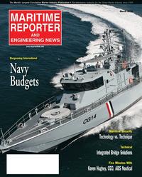 Maritime Reporter Magazine Cover Mar 2, 2010 -