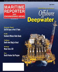 Maritime Reporter Magazine Cover Apr 2, 2010 -