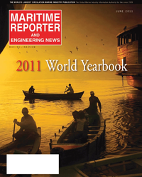 Maritime Reporter Magazine Cover Jun 2011 - Feature: Annual World Yearbook