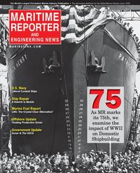 Maritime Reporter Magazine Cover Jan 2014 - Ship Repair & Conversion Edition