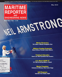 Maritime Reporter Magazine Cover May 2014 - Marine Electronics Edition