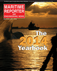 Maritime Reporter Magazine Cover Jun 2014 - Annual World Yearbook
