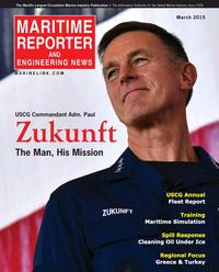Maritime Reporter Magazine Cover Mar 2015 - U.S. Coast Guard Annual