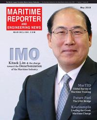 Maritime Reporter Magazine Cover May 2018 - Marine Propulsion Edition