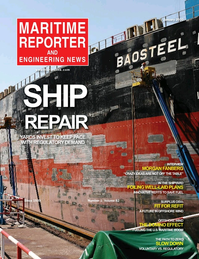 Maritime Reporter Magazine Cover Jan 2020 - Ship Repair & Conversion Annual