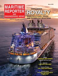 Maritime Reporter Magazine Cover Mar 2020 - Cruise Shipping Annual