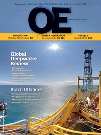 Offshore Engineer Magazine Cover May 2014 -