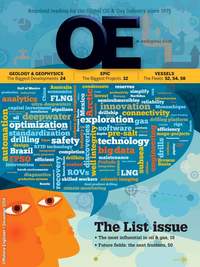 Offshore Engineer Magazine Cover Dec 2014 -