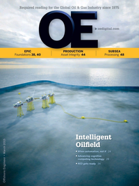 Offshore Engineer Magazine Cover Mar 2015 -