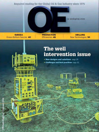 Offshore Engineer Magazine Cover Feb 2016 -
