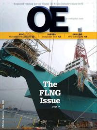 Offshore Engineer Magazine Cover Jun 2016 -