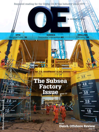 Offshore Engineer Magazine Cover Aug 2016 -