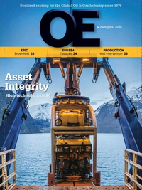 Offshore Engineer Magazine Cover Apr 2017 -
