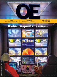 Offshore Engineer Magazine Cover May 2017 -