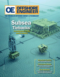 Offshore Engineer Magazine Cover Mar 2020 - Offshore Wind Outlook
