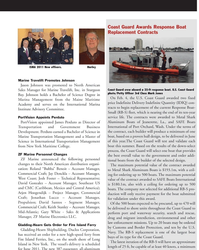 MN Mar-11#47 www.marinelink.com MN 47 Marine Travelift Promotes
