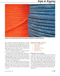 MN Sep-15#55 Rope & Rigging Samson's current product leader (blue) and