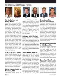 MN Dec-15#52 PEOPLE & COMPANY NEWS Mayhall Roth Smith Martin de Rubertis