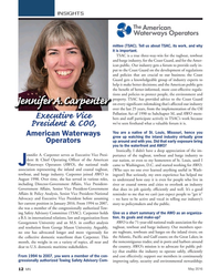 MN May-16#12  advice to the Coast Guard  Jennifer A. Carpenter on every