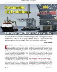MN Sep-16#30 OFFSHORE TRENDS Sustainable  (R)Evolution –  Photo: Jen